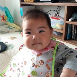 離乳食づくりのお手伝いでママ&赤ちゃんと再会